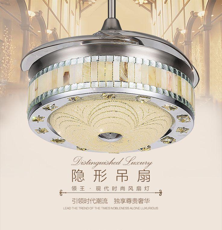 42 дюймов потолочная люстра вентилятор гостиная столовая спальня потолочная люстра вентилятор огни главная из светодиодов люстра