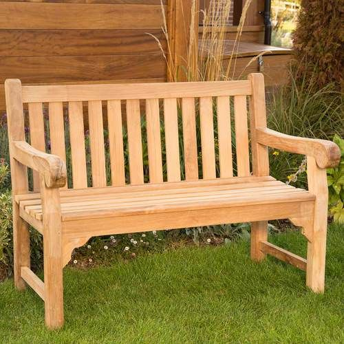 bench outside. A compact and solid teak bench ideally suited to smaller outside spaces  Hard wearing 40 best Garden Park Benches images on Pinterest benches
