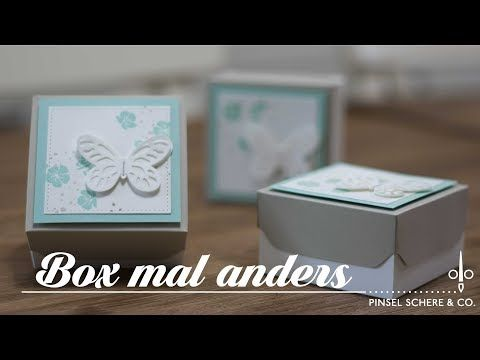 Einfache Box mal anders mit dem Envelope Punch Board - Stampin' Up! - YouTube