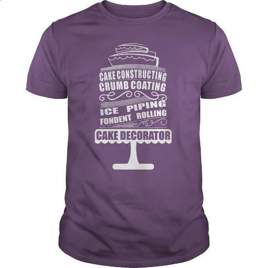 Cake Decorator - #hoodies womens #champion sweatshirt. GET YOURS => https://www.sunfrog.com/LifeStyle/Cake-Decorator-Purple-Guys.html?60505