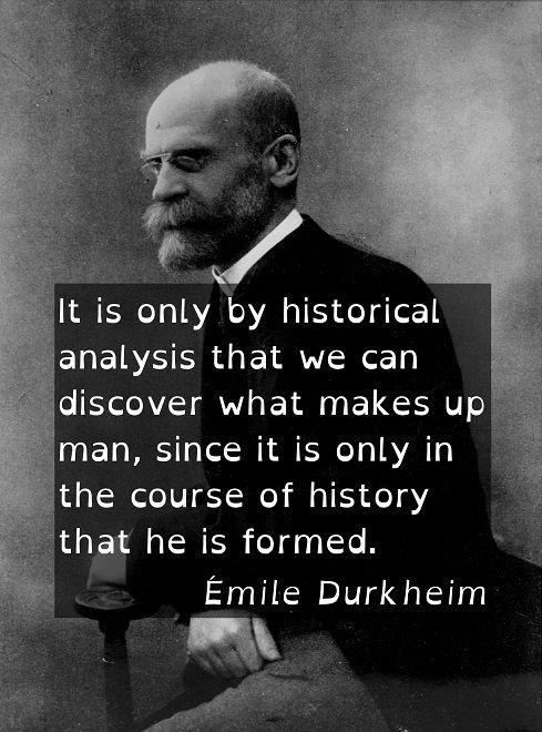 emile durkheim quote