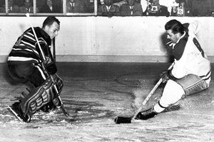 Maurice Richard. He is a definition of a leader and a hero. He is The Rocket, my 1 most favorite NHL hockey player.