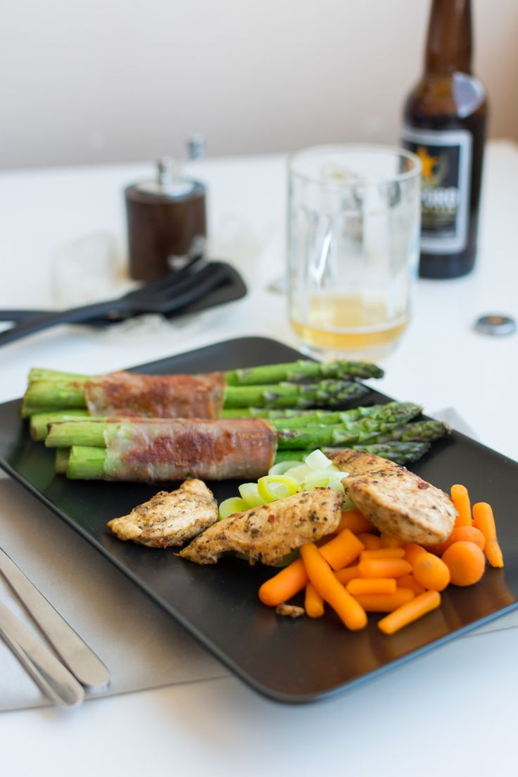 Parallax home of jesse maitland - Free Food Pictures Chicken Breast Steak With Vegetables And Beer Foodiesfeed Com