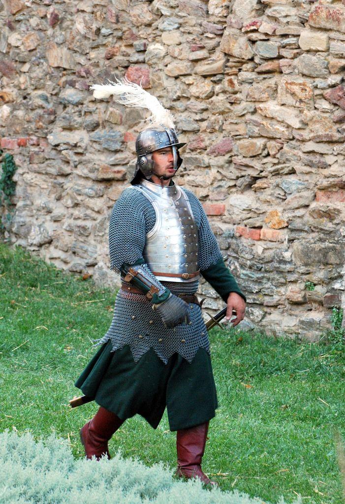Hungarian heavy hussar XVI century