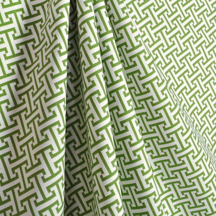 P/K Lifestyles Cross Section Green Fabric