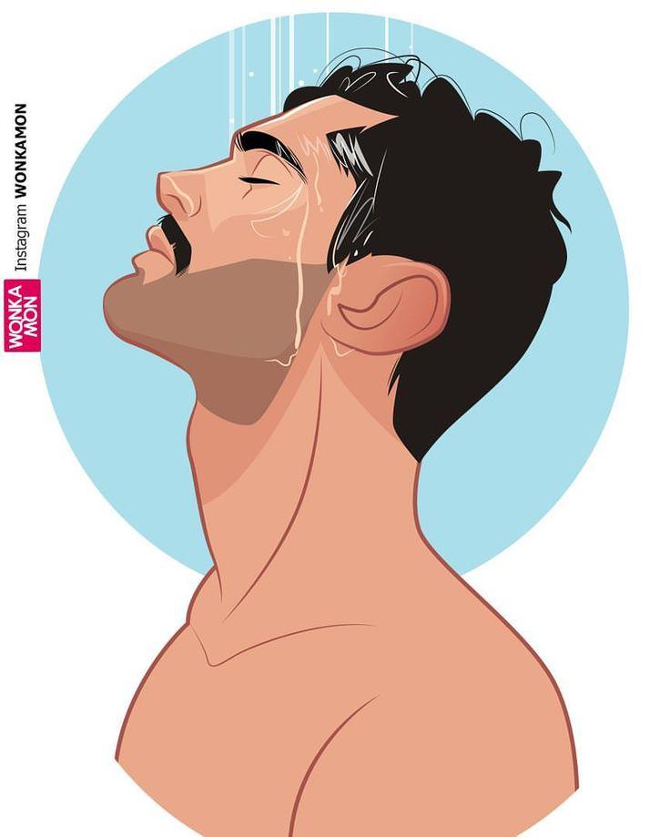 """163 Likes, 4 Comments - @wonkamon on Instagram: """"Una rica ducha sabado en la mañana luego de la cruda , gracias amigo @juanesvej #shower #beard…"""""""