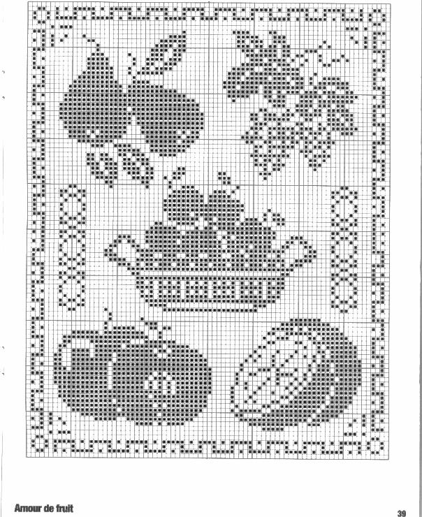 799 Best Images About Cross Stitch Patterns Fruits And