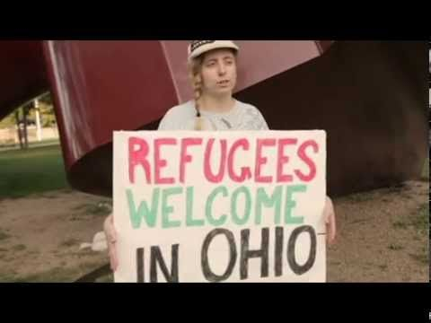 Refugees Welcome In Ohio Cleveland, OH Rally