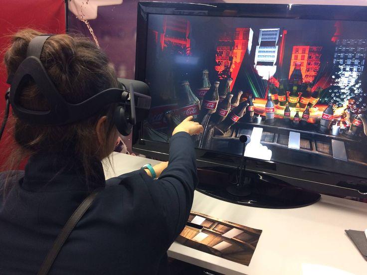 Wygrana Unity9 VR Chalange organizowany przez Coca Cole.