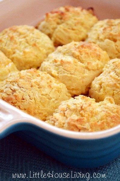 Cheddar Biscuit Recipe – Yellow Squash Recipes – Homemade Biscuits