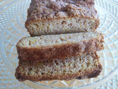 Crook Neck Squash Bread ~ This bread, a mix between Amish cinnamon bread and zucchini bread was the perfect combination. The use of sour cream makes this bread super moist and as an added bonus it is half the calories! Recipe @: http://www.twirllygirls.blogspot.com/2013/08/crook-neck-squash-bread.html