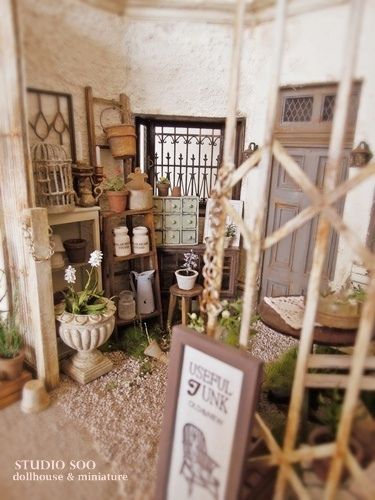 cute shed area
