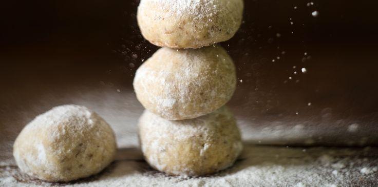 Ginger-Spiced Lemon Hazelnut Balls