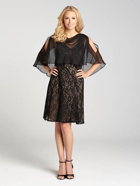 Sleeveless Sequin Dress with Chiffon Overlay