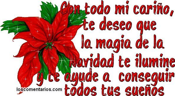Este es un hermosos Frases de Navidad para Felicitar a nuestros seres mas queridos, Para Ampliar hacer clik sobre el imagen