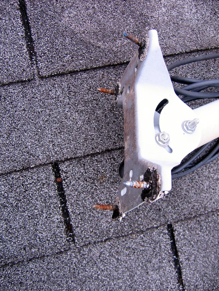 how to install a satellite dish to prevent emergency roof repair athens ga