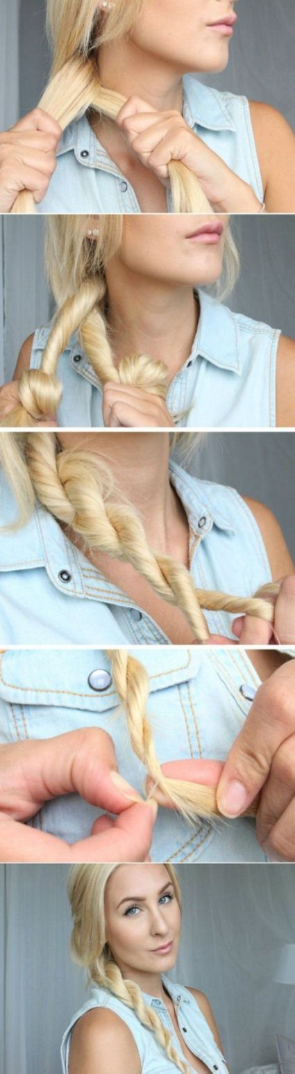 59+ Ideas Hair Tutorial No Heat Awesome For 2019