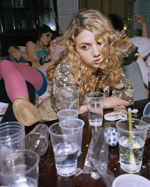 """""""Skins."""" Miss Cassie doing her own thing at the party"""