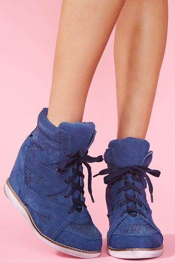 Venice Wedge Sneakers