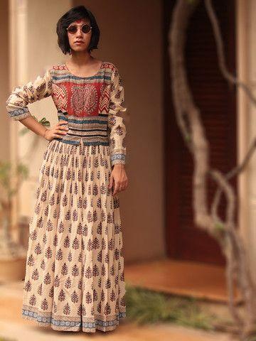 jewelry ring Cotton Peshwaz Dress