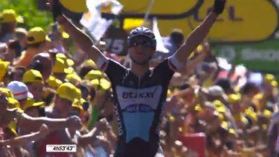 6. etapa Tour de France od Abbevilla do Le Havra je na 191.5 kilometrih ob zaključku poskrbela za dramatičen razplet