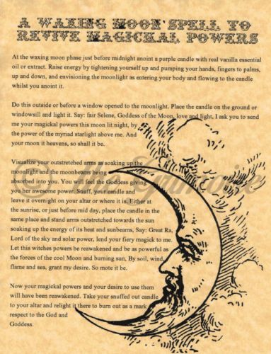 Book-of-Shadows-Page-Waxing-Moon-Spell-to-Revive-Magickal-Powers-Real-Spell