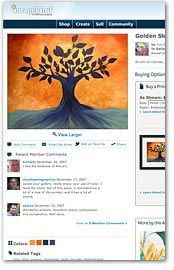 Sell Art Online for Free!    Buy and sell your art, photography, illustration and more.