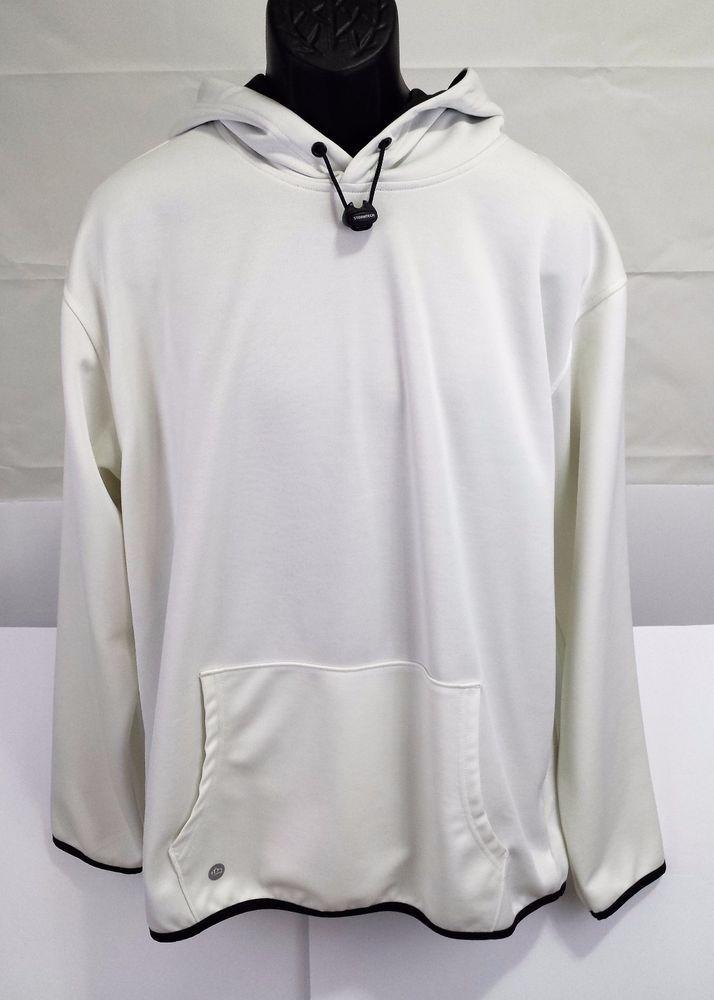 STORMTECH WHITE HOODIE. Men's SZ  XL-ATLETCHIC WEAR/CASUAL WEAR.SWEATSHIRT #STORMTECH #Hoodie