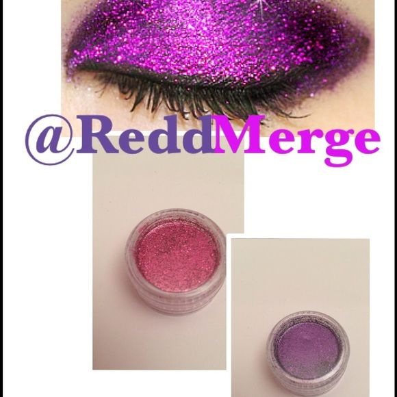 Glitter eyeshadow! 1/$8 or 2 for $15 glitter eyeshadow palette / New with Tags New Never opened  Glitter eyeshadow! 1/$8 or 2 for $15 2glitter pots for $15 1cosmetic brush Recommend: apply with eye primer  Create your own designs with sparkling glitter!  Categories: glitter eyeshadow/ glitter eyebrows/ Barbie/ body art / Jem and the hologram/ Jem and hologram/ sale /glitter / body glitter /shop My closet / body paint / flashsale Sephora Makeup Eyeshadow