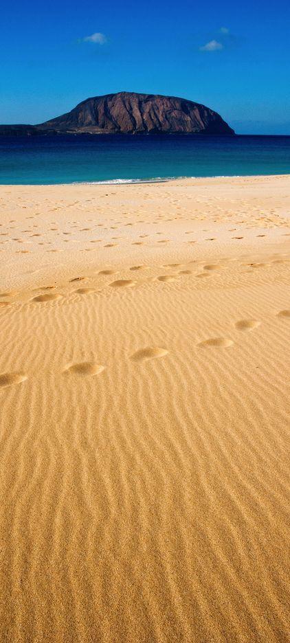 La Concha beach, Canary islands, Spain