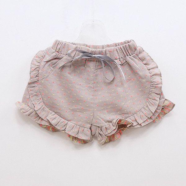 ruffle shorts - dress down style