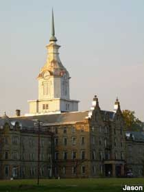 The old Weston State Hospital, now the Trans-Allegheny Lunatic Asylum. Took a tour while it was still operational, but think I will skip their haunted tours and ghost sightings.