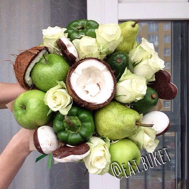 Фруктовый букет в Нижнем Новгороде на заказ заказать из фруктов Нижний Новгород