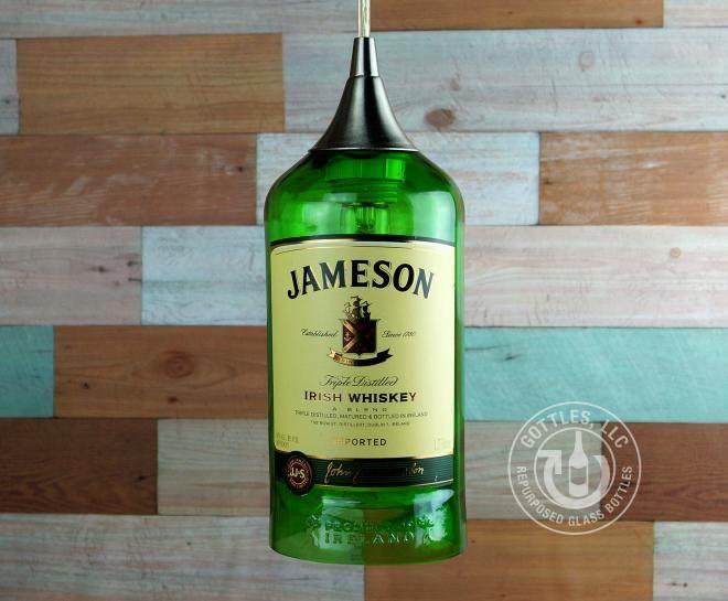 Jameson Irish Whiskey Pendant Lamp CXL   Gottles