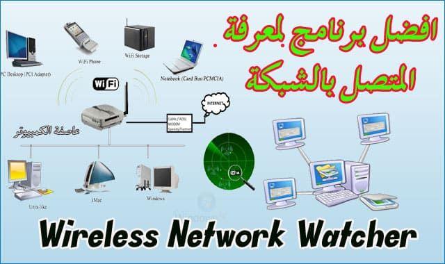 افضل برنامج لمعرفة المتصلين على الشبكة 2020 Wireless Networking Networking Wireless