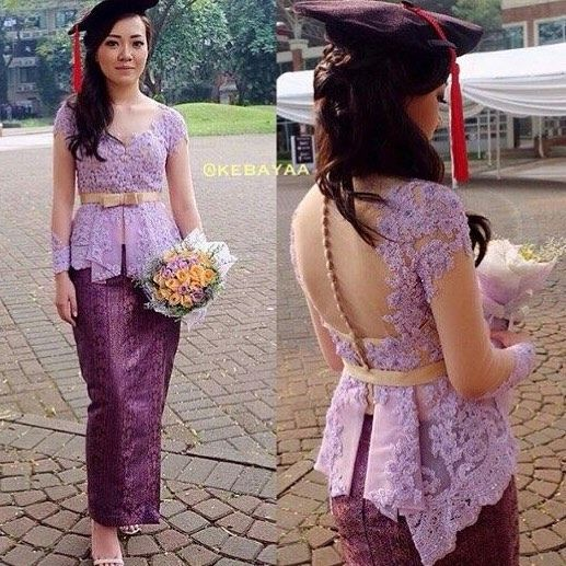 From: http://batik.larisin.com/post/137427850745/kutubaru-kebaya-kebayamodern-kebayawisuda