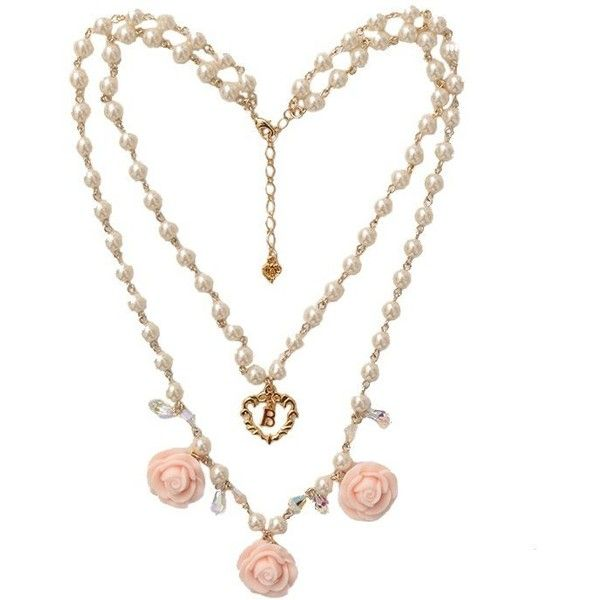 Rose Boudoirネックレス BABY, THE STARS SHINE BRIGHT ベイビーザスターズシャインブライト ($45) ❤ liked on Polyvore featuring necklaces and jewelry