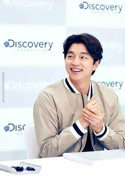 Gong Yoo. His smile (。>﹏<。)