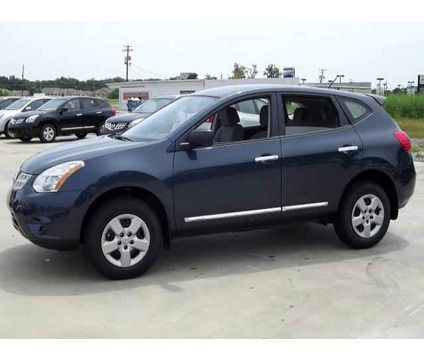Nissan SUV the Rogue 2013   2013 Nissan Rogue S   Blue 2013 Nissan Rogue S SUV in Gonzales LA ...