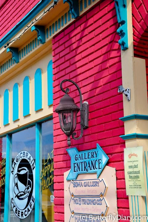 Colorful Shops, Cape May, New Jersey
