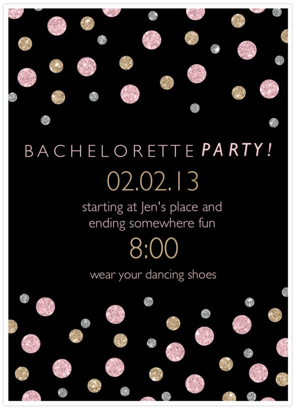 463 best Her big fat gypsy bachelorette party images on – Bachelorette Party Invitation Templates