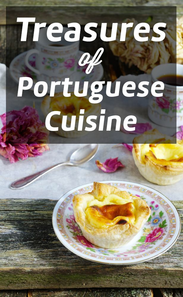 Delicious Portuguese cuisine - from the sweet egg tarts to salty varieties featuring seafood, cod etc.