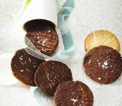 Chocolate-walnut thins