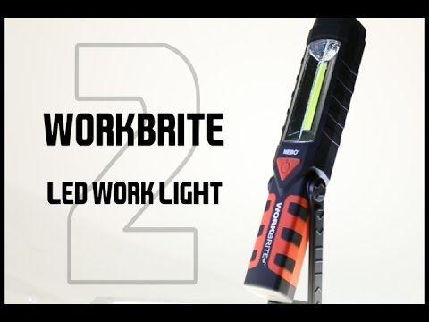 WORKBRITE 2 LED Work Light   NEBO Flashlight