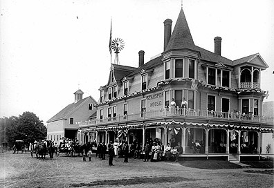 Searsport, Maine Building from back in the day.
