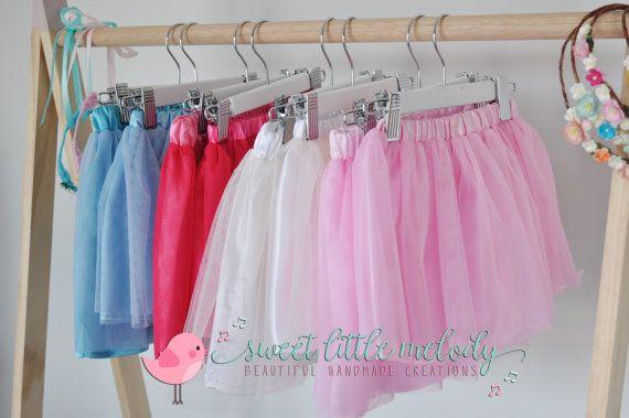 Flowergirl Tutu Pink Tutu Ballerina Skirt by SweetLittleMelody