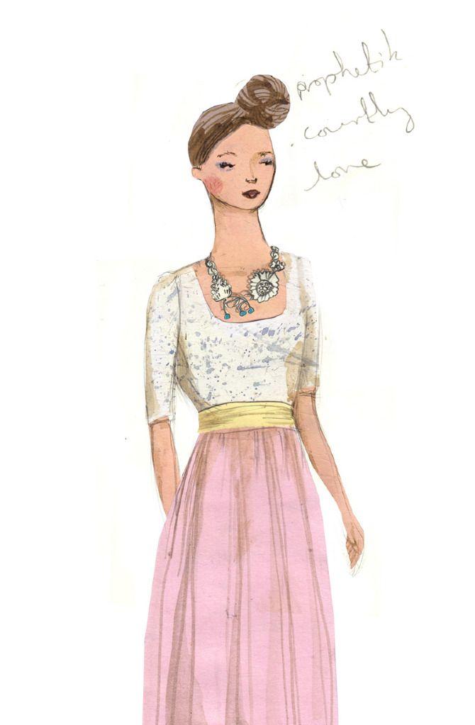 London Fashion Week - Emma Block Illustration