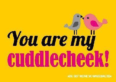 Postkarte Forbetter your Englisch 002b You are my cuddlecheek! Depesche http://www.amazon.de/dp/B00KC6EEZY/ref=cm_sw_r_pi_dp_mlnlwb124A7QS