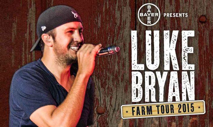 Luke Bryan Announces 2015 Farm Tour Dates