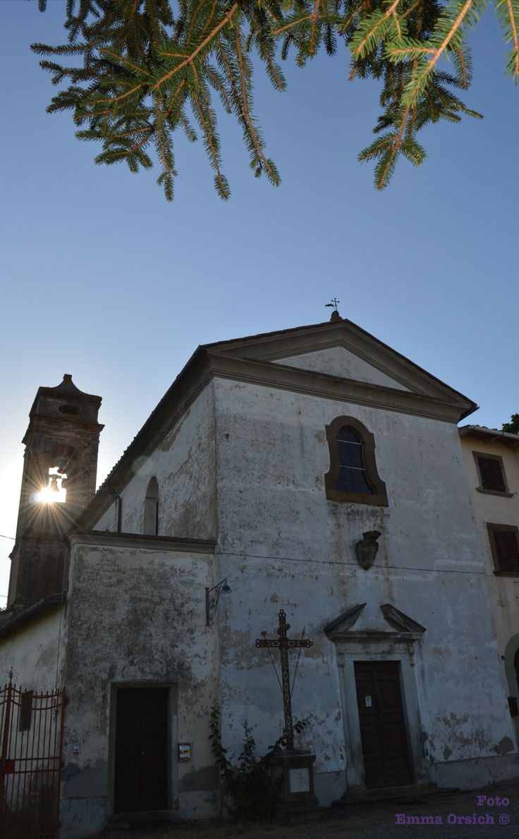 abandoned church Villa Saletta Pisa-Italy
